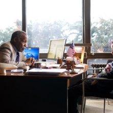 Danny Glover e Fergus Riordan in una scena del film I want to be a soldier