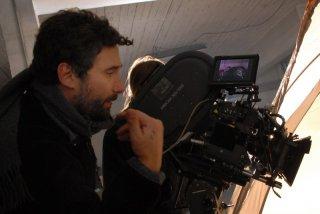 Federico Zampaglione sul set del suo film Shadow