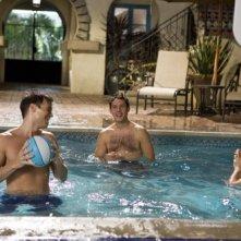 Melrose Place: Nick Zano, Michael Rady e Shaun Sipos nell'episodio Mulholland