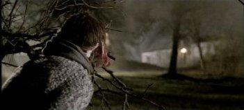 Una delle prime immagini dell'horror italiano Shadow