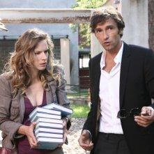 Antonia Liskova e Ignazio Oliva in una scena dell'episodio Gloria di Tutti pazzi per amore 2