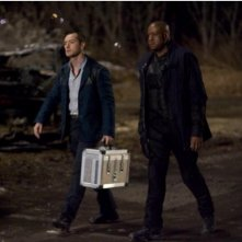 Jude Law e Forest Whitaker nel film Repo Men