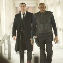 Liev Schreiber e Forest Whitaker in una scena del film Repo Men