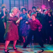 Rachael Harris e Robert Capron in una scena di Diary of a Wimpy Kid