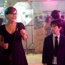 Rachael Harris e Zachary Gordon in Diary of a Wimpy Kid