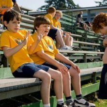 Zachary Gordon, Robert Capron e Grayson Russell in una scena di Diary of a Wimpy Kid con
