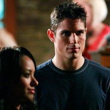 Bonnie (Katerina Graham)  e Ben (Sean Faris) nell'episodio Unpleasantville di The Vampire Diaries