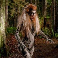 La spaventosa Silver Banshee (Odessa Rae) in un momento dell'episodio Escape di Smallville