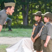 Matt Dillon e i piccoli Ella Bleu Travolta e Conner Rayburn nel film Daddy Sitter