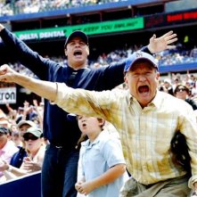 Robin Williams e John Travolta insieme a Conner Rayburn nel film Daddy Sitter