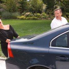 Robin Williams e Kelly Preston in un'immagine del film Daddy Sitter