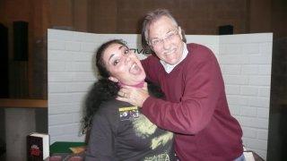 Fantasy Horror Award 2010: Brian Yuzna tenta di uccidere Luciana Morelli, che lo ha intervistato per Movieplayer.it