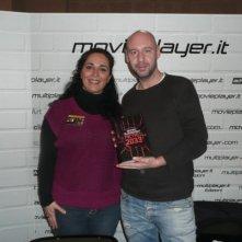 Fantasy Horror Award 2010: Jaume Balaguerò accanto a Luciana Morelli che l'ha intervistato per Movieplayer.it