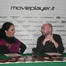 Fantasy Horror Award 2010: Jaume Balaguerò con Luciana Morelli che l'ha intervistato per Movieplayer.it
