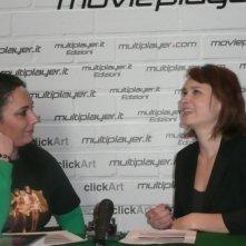Fantasy Horror Award 2010: l'attrice Kristina Klebe intervistata da Luciana Morelli