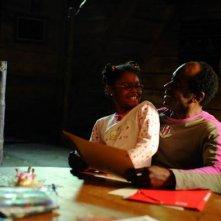 Lucien Jean-Baptiste e Loreyna Colombo in una scena del film La première étoile