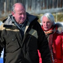 Michel Jonasz e Bernadette Lafont in un'immagine del film La première étoile
