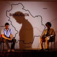 Una scena simbolica dal film Basilicata Coast to Coast
