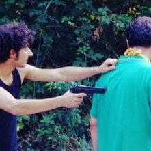Una sequenza del film La banda del brasiliano