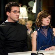 La coppia Phil (Steve Carell) e Claire Foster (Tina Fey) nel film Date Night