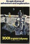Locandina del film 2001: Odissea nello spazio di Stanley Kubrick