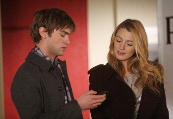Nate (Chace Crawford) e Serena (Blake Lively) nell'episodio The Empire Strikes Jack di Gossip Girl