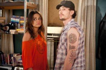 Whippit (Mila Kunis) e Taste (James Franco) in una scena del film Date Night