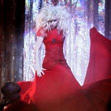 Gossip Girl, stagione 3: Lady Gaga sul set dell'episodio The Last Days of Disco Stick.