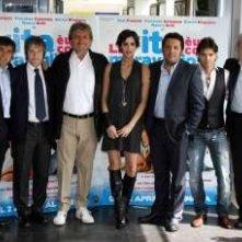 Il cast di La vita è una cosa meravigliosa presenta il film dei Vanzina.