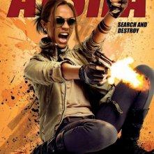 Character poster per The Losers - Zoe Saldana è Aisha
