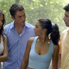 Eliza Dushku, Desmond Harrington, Emmanuelle Chriqui e Jeremy Sisto in Wrong Turn