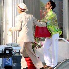 Jim Carrey e Rodrigo Santoro in una scena di Colpo di fulmine - Il mago della truffa