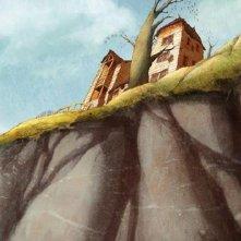 Un'immagine dell'incantevole paesaggio del film Nat e il segreto di Eleonora