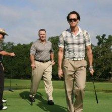 Un'immagine di Phillip (Jim Carrey), bizzarro protagonista del film Colpo di fulmine - Il mago della truffa