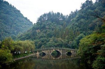 Un'immagine di un paesaggio tratta dal film The Karate Kid: La leggenda continua