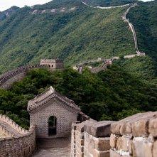 Una foto della muraglia cinese per il film The Karate Kid: La leggenda continua, 2010