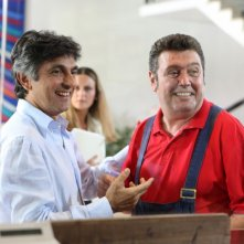 Vincenzo Salemme e Rodolfo Laganà in una scena de La vita è una cosa meravigliosa
