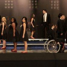 Un momento dell'episodio Hell-O di Glee