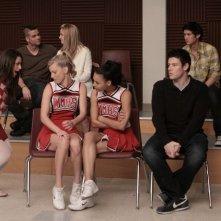 Una scena dell'episodio Hell-O di Glee, ritorno della serie dopo quattro mesi di pausa
