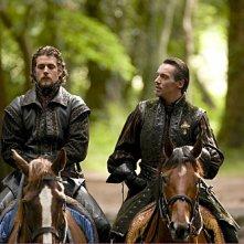 I Tudors: Henry Cavill e Jonathan Rhys Meyers nella premiere della stagione 4