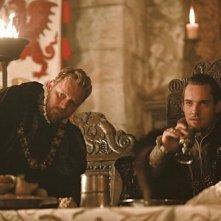 I Tudors: Rod Hallett e Jonathan Rhys Meyers nella premiere della stagione 4