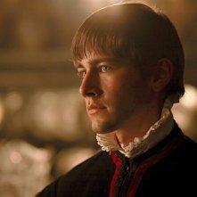 I Tudors: Torrance Coombs in una scena della premiere della stagione 4