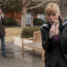 In Plain Sight: Mary McCormack e Frederick Weller nell'episodio When Mary Met Marshall
