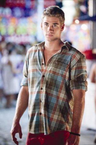 Liam Hemsworth in un'immagine del film The Last Song