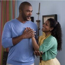 Tyler Perry e Janet Jackson nel film Why Did I Get Married Too?