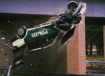 Un'adrenalinica immagine del serial Squadra Speciale Cobra 11