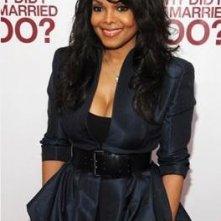 Un'immagine di Janet Jackson dalla premiere di New York del film Why Did I Get Married Too?