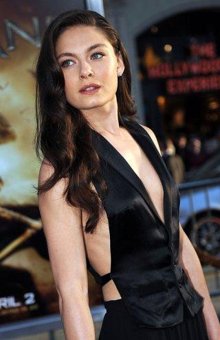 Alexa Davalos alla premiere del film Clash of the Titans, a Los Angeles, il 31 Marzo 2010