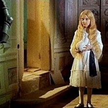 L'inquietante Melissa in una scena del film Operazione paura. La piccola è interpretata in realtà da un bambino, Valerio Valeri