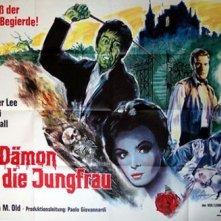 Lobby card promozionale tedesca del film La frusta e il corpo (1963)